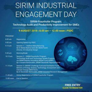 SIRIM INDUSTRIAL ENGAGEMENT DAY