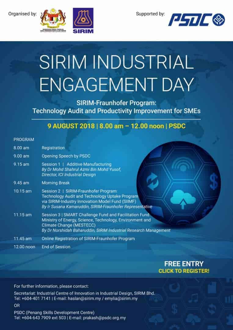 SIRIM INDUSTRIAL ENGAGEMENT DAY